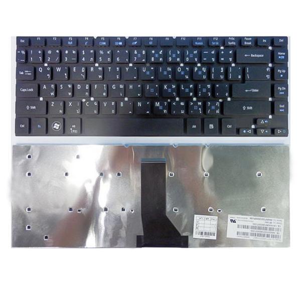 Bàn Phím Laptop Acer 4830 Đen