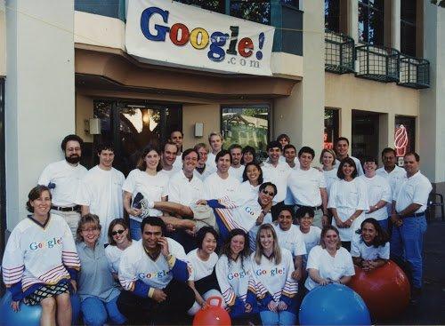 21 Năm Lịch Sử Của Google Qua 33 Bức ảnh Thú Vị
