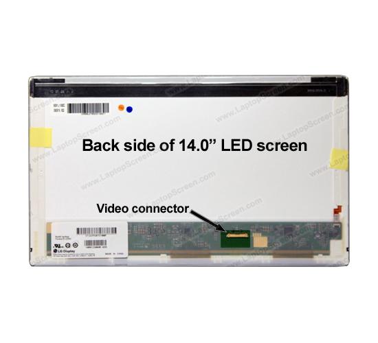 Màn Hình Laptop 14.0 Led Dày 30 Pin (1366 X 768)