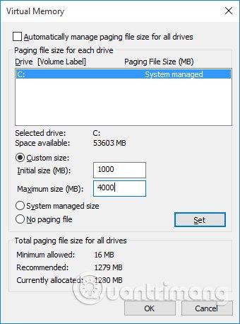 Sửa Lỗi Full Disk