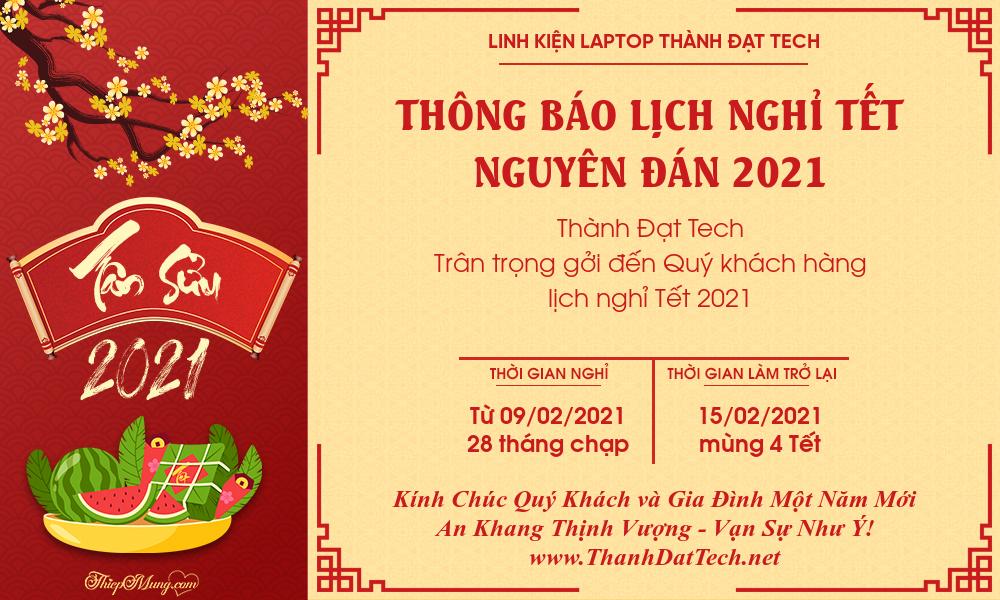 TB Nghi Tet_Thanh Dat Tech