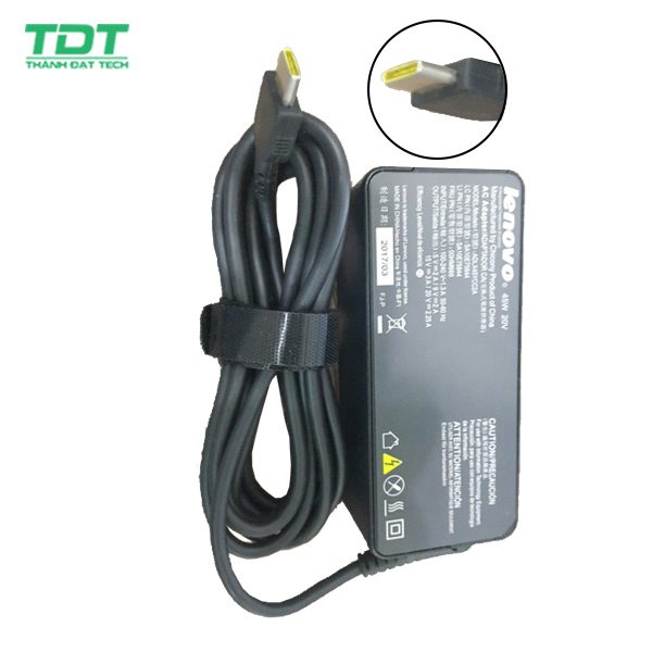 Sạc laptop Lenovo 20V-3.25A USB Type-C